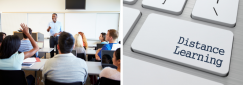 Is Distance Learning better than Classroom Learning?