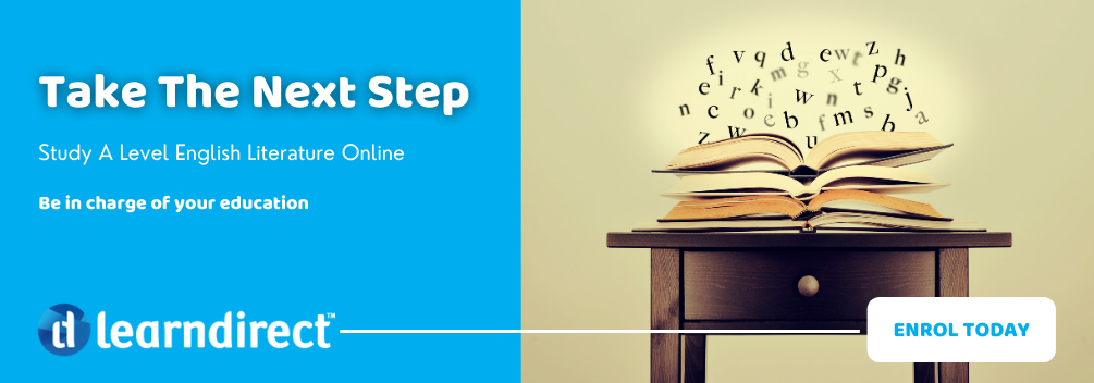 learndirect - Should I Study A Level English Literature - Enrol Now