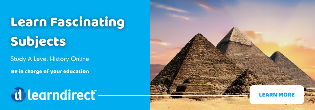 Learndirect - Study A Level History Online - Learn More