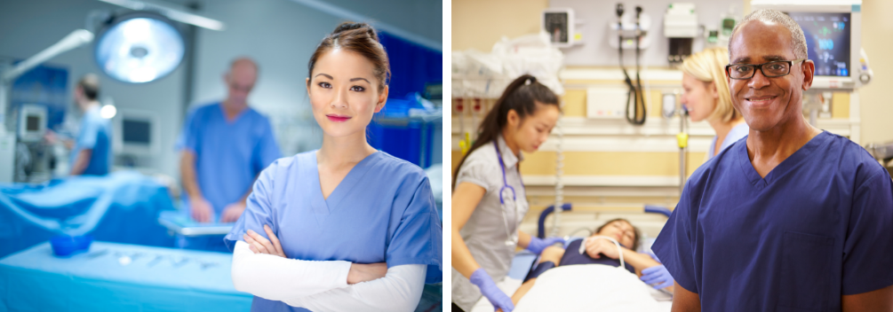 Becoming a Theatre or Critical Care Nurse