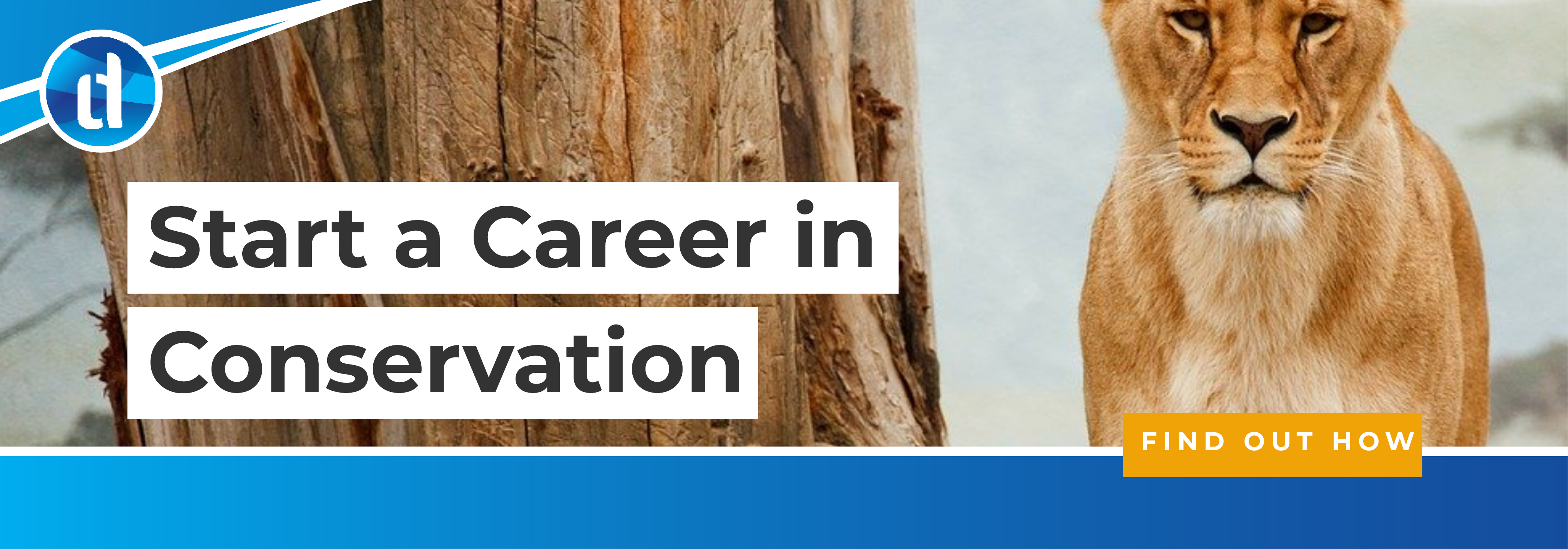 learndirect - study online for a career in animal and wildlife conservation